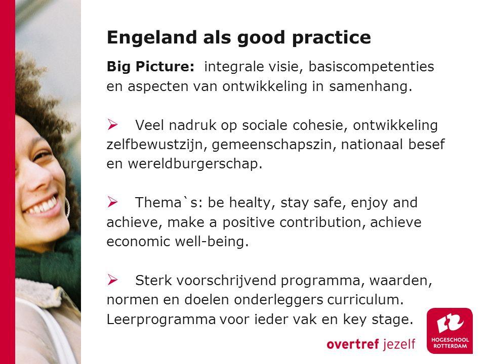 Engeland als good practice