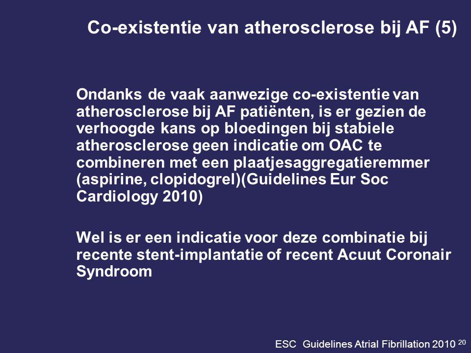 ESC Guidelines Atrial Fibrillation 2010 20