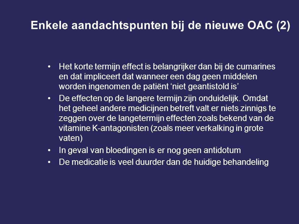 Enkele aandachtspunten bij de nieuwe OAC (2)