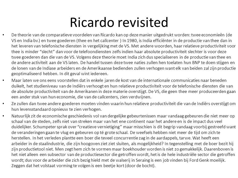Ricardo revisited