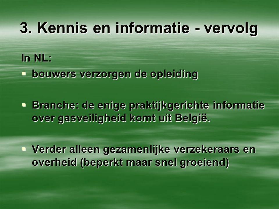 3. Kennis en informatie - vervolg