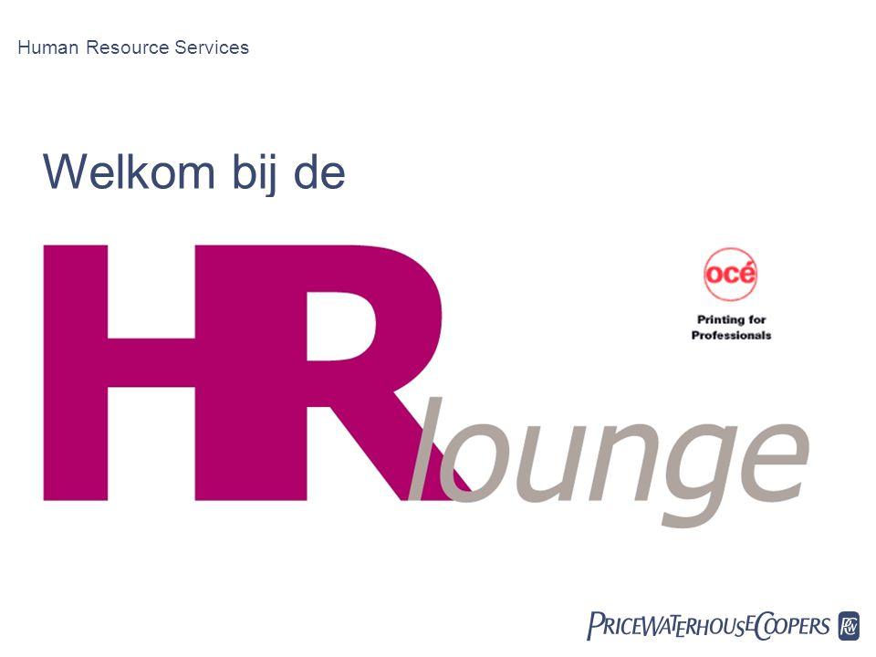 Date Human Resource Services Welkom bij de PwC