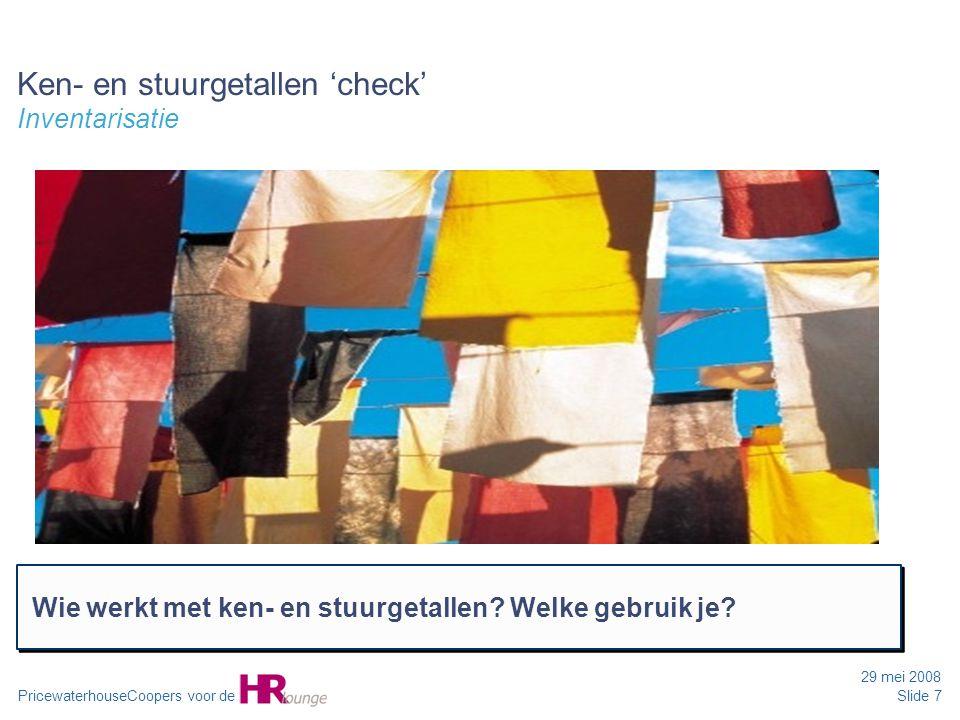 Ken- en stuurgetallen 'check' Inventarisatie