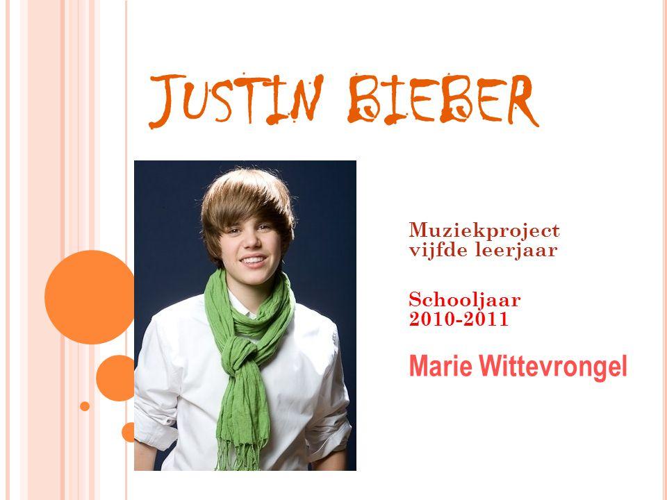 Muziekproject vijfde leerjaar Schooljaar 2010-2011 Marie Wittevrongel