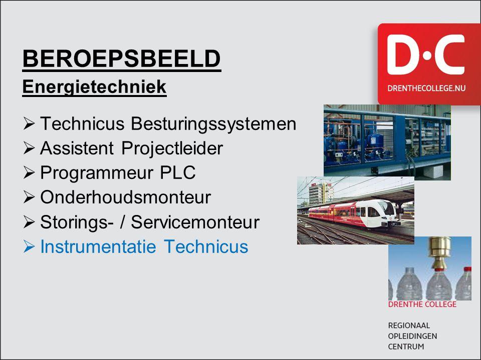 BEROEPSBEELD Energietechniek Technicus Besturingssystemen