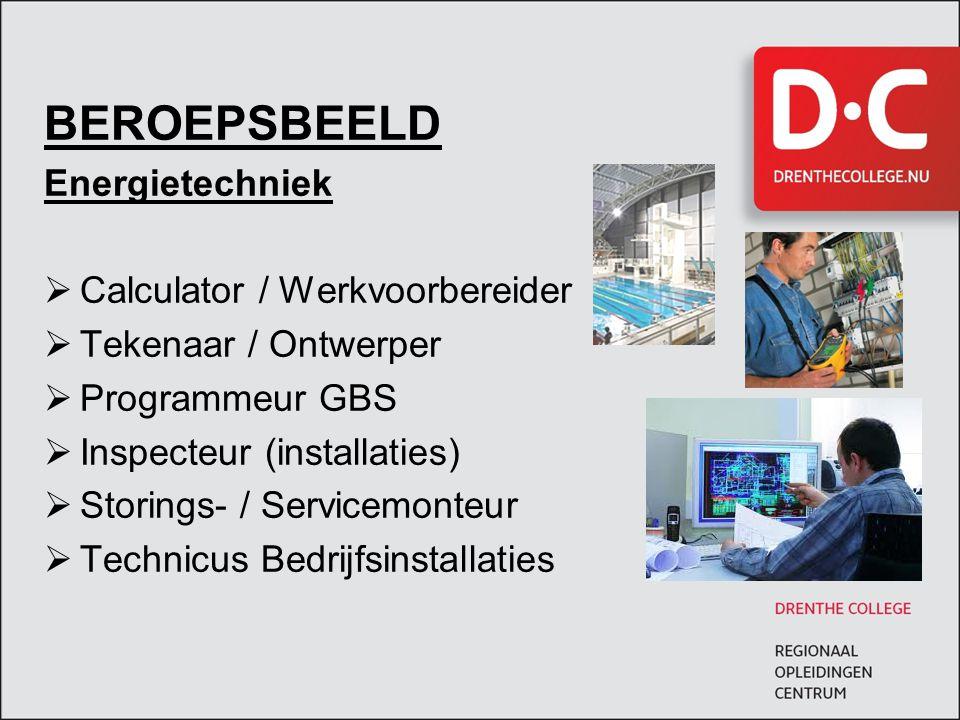 BEROEPSBEELD Energietechniek Calculator / Werkvoorbereider