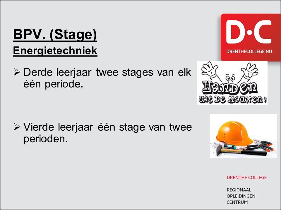 BPV. (Stage) Energietechniek