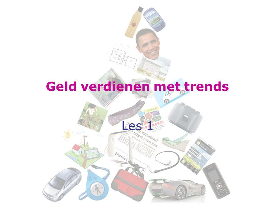 Geld verdienen met trends