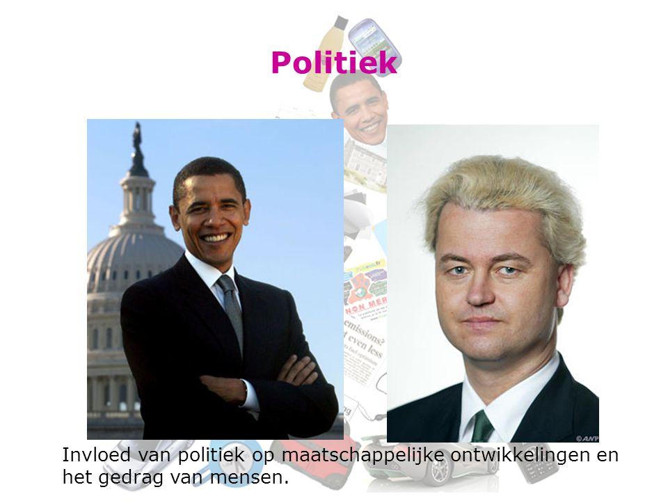 Politiek Invloed van politiek op maatschappelijke ontwikkelingen en