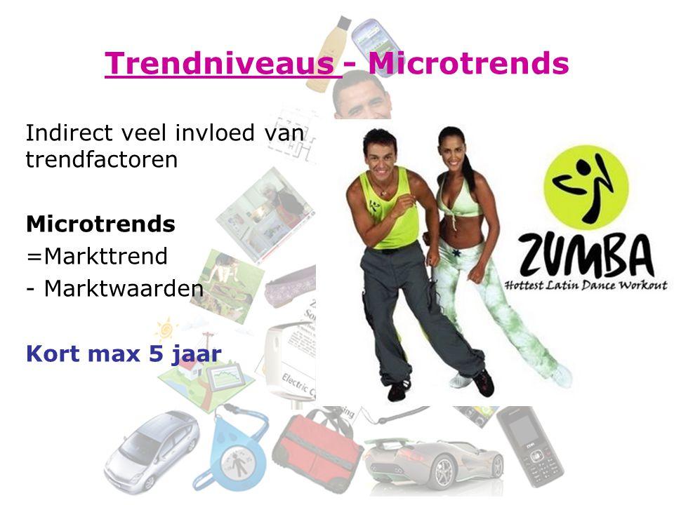 Trendniveaus - Microtrends