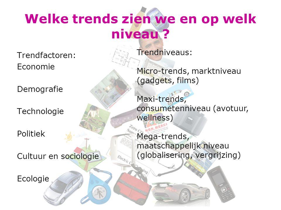 Welke trends zien we en op welk niveau