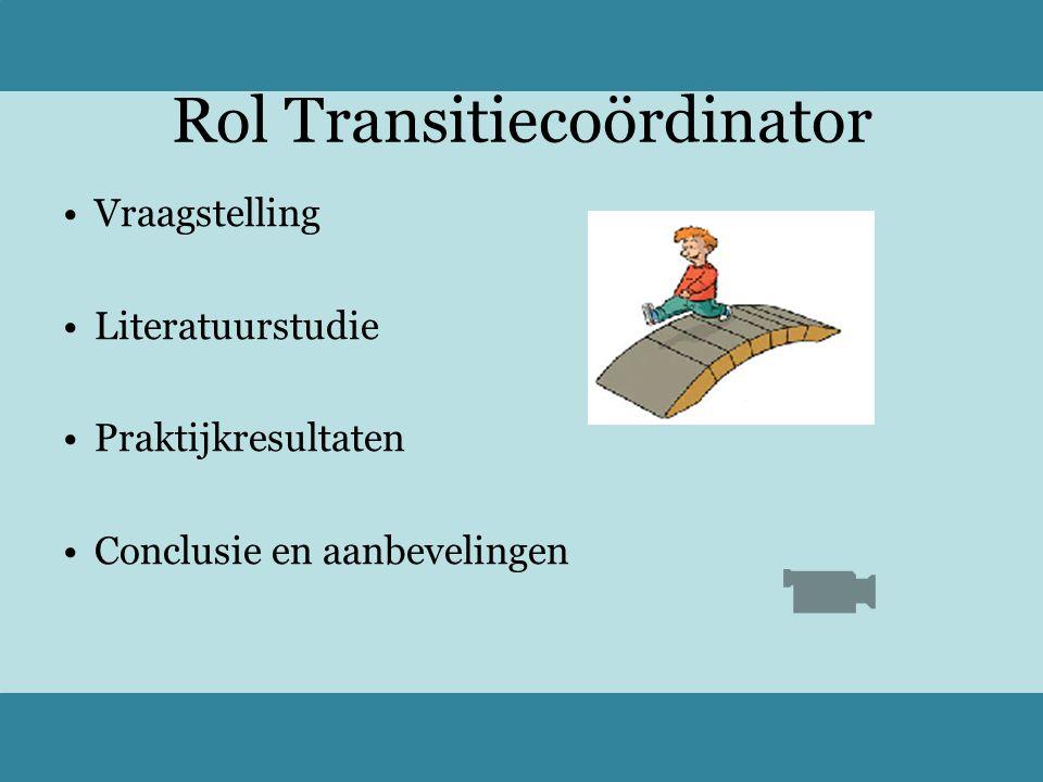 Rol Transitiecoördinator