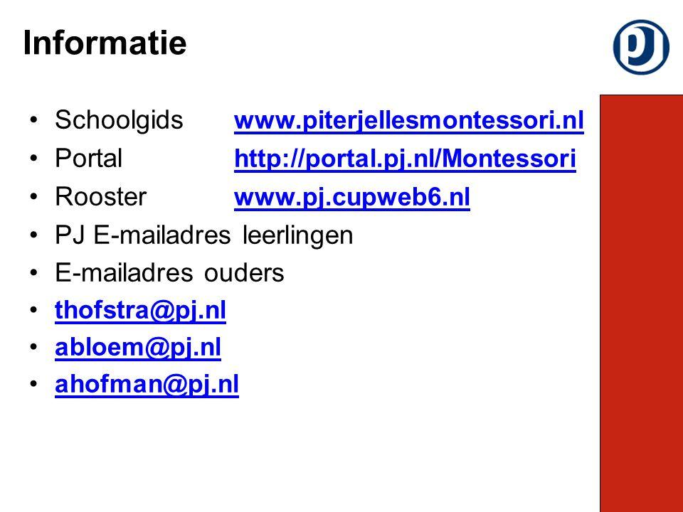 Informatie Schoolgids www.piterjellesmontessori.nl