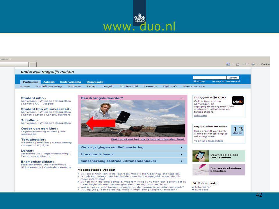 www. duo.nl