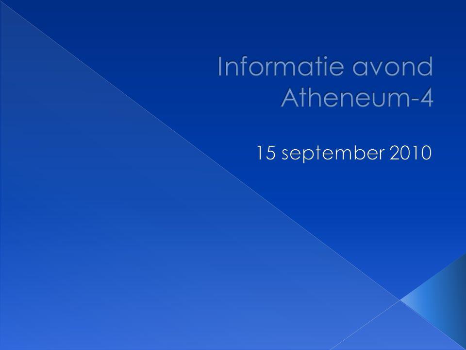 Informatie avond Atheneum-4