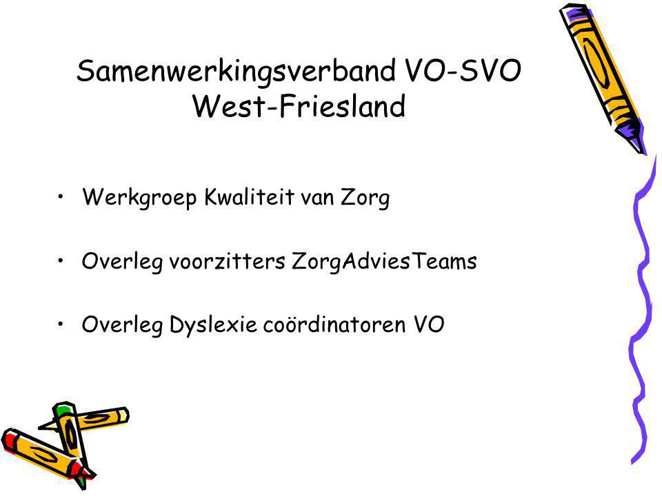 Samenwerkingsverband VO-SVO West-Friesland