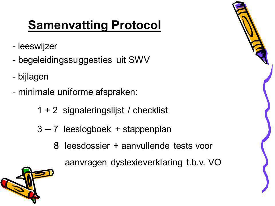Samenvatting Protocol