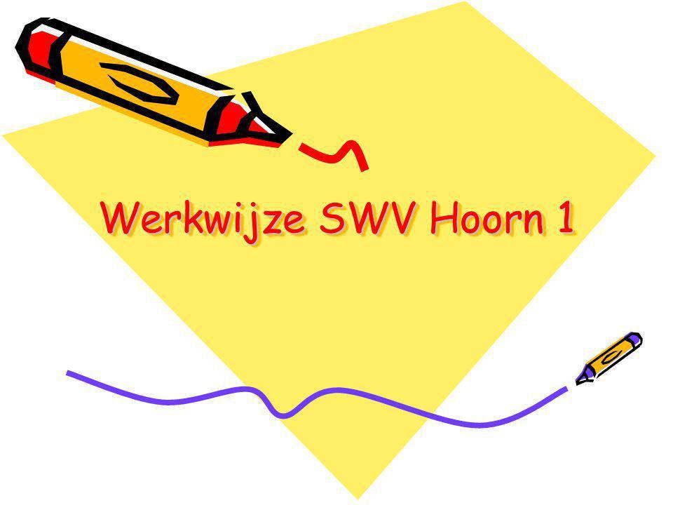 Werkwijze SWV Hoorn 1