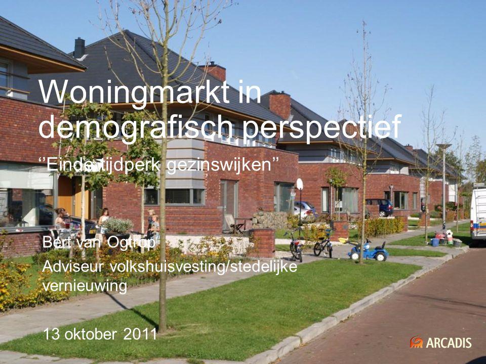 Woningmarkt in demografisch perspectief