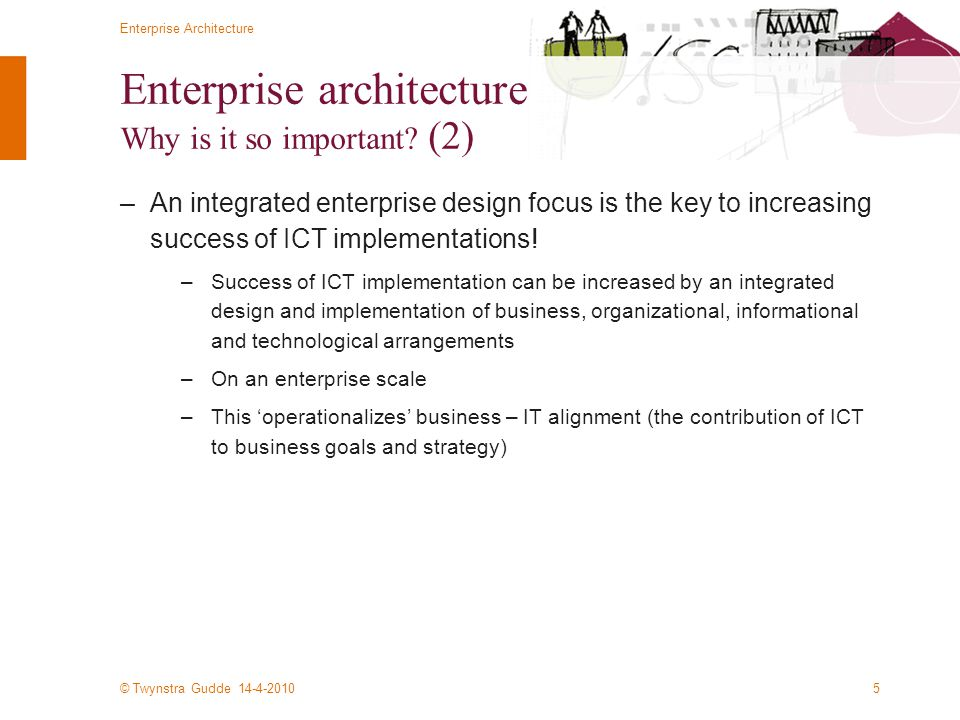 Enterprise architecture Why is it so important (2)
