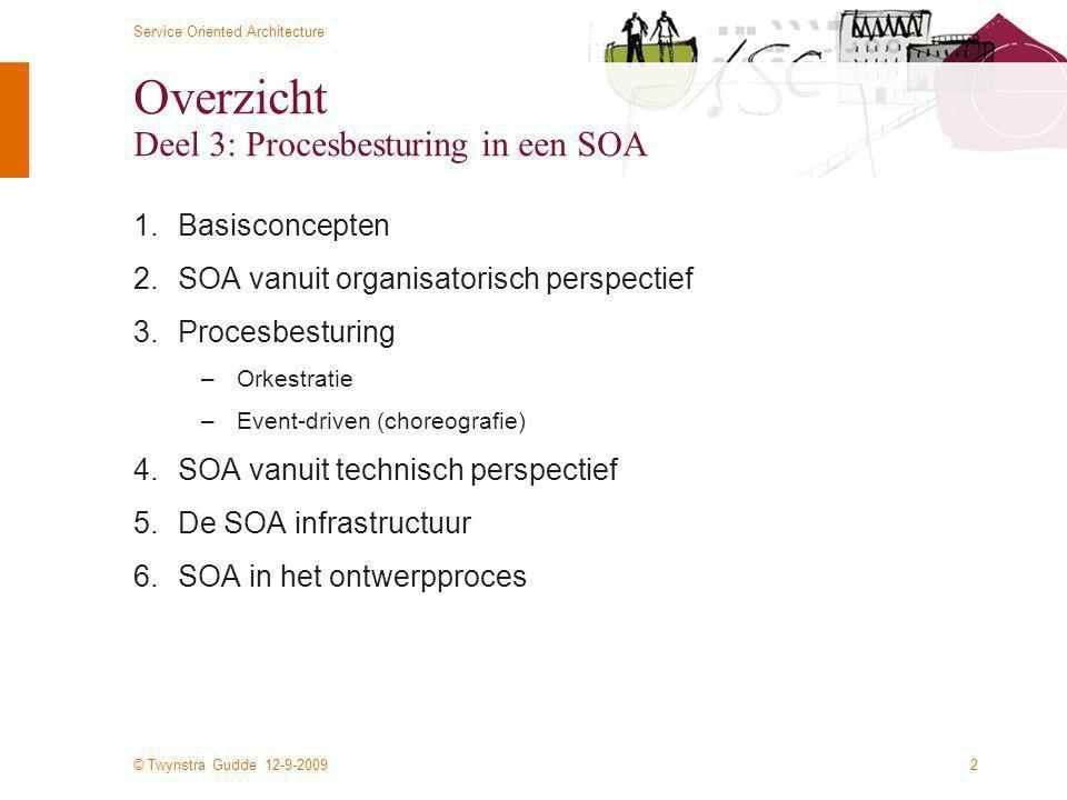Overzicht Deel 3: Procesbesturing in een SOA