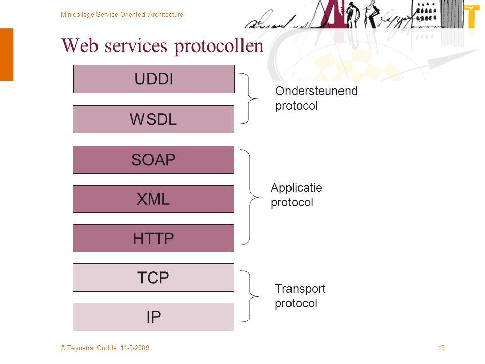 Web services protocollen