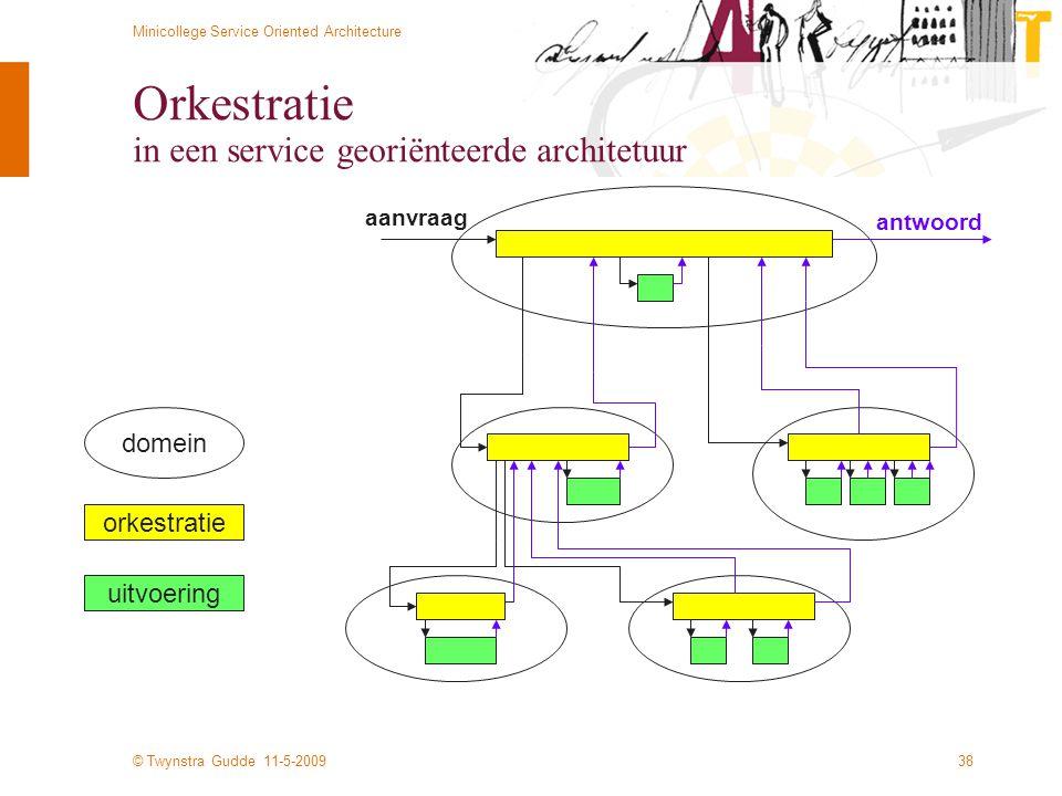 Orkestratie in een service georiënteerde architetuur