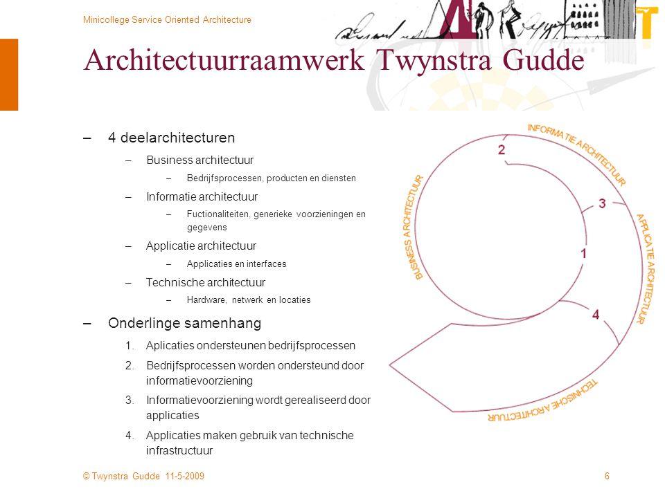 Architectuurraamwerk Twynstra Gudde