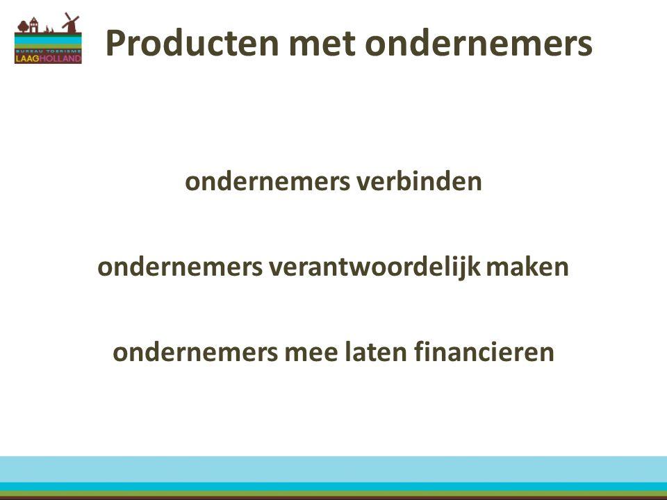 Producten met ondernemers