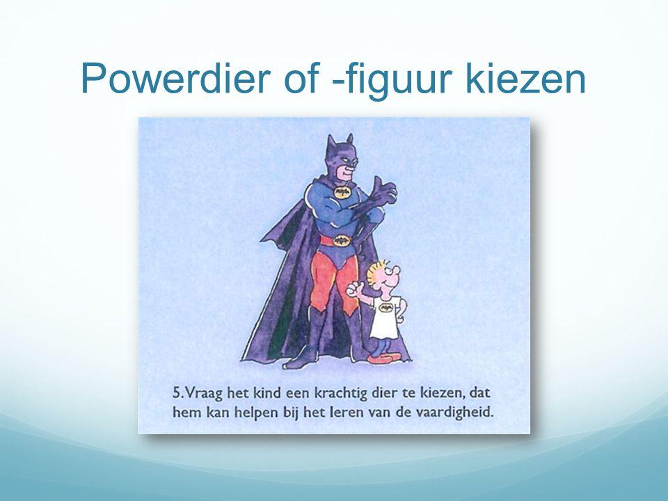 Powerdier of -figuur kiezen