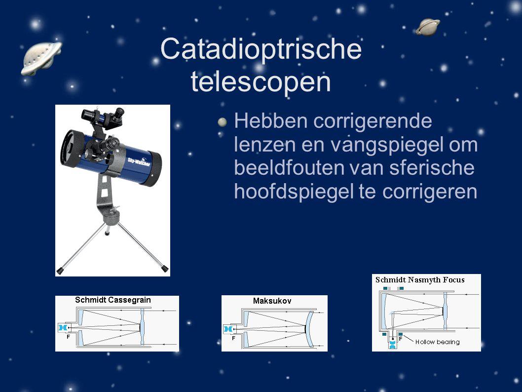 Catadioptrische telescopen