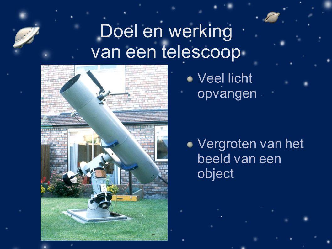 Doel en werking van een telescoop