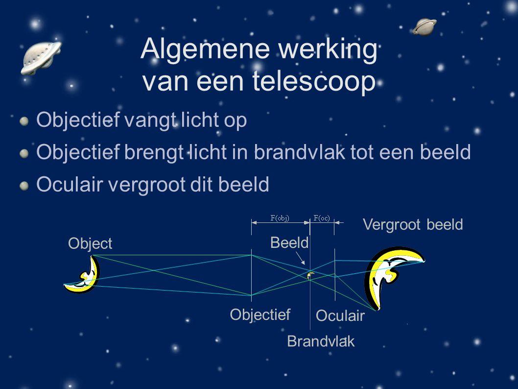 Algemene werking van een telescoop