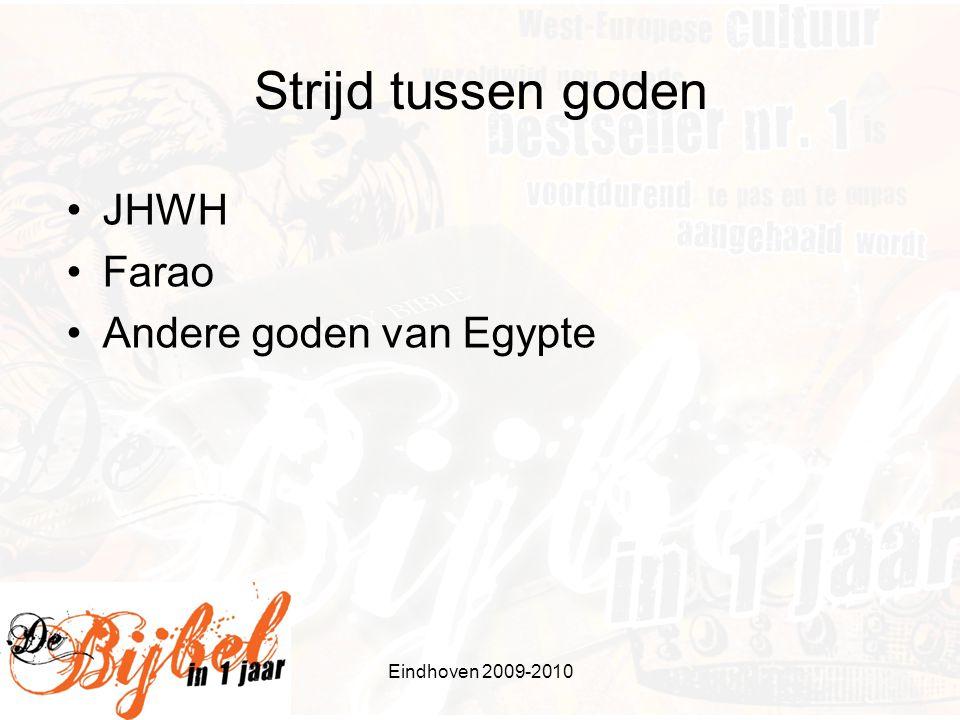 Strijd tussen goden JHWH Farao Andere goden van Egypte