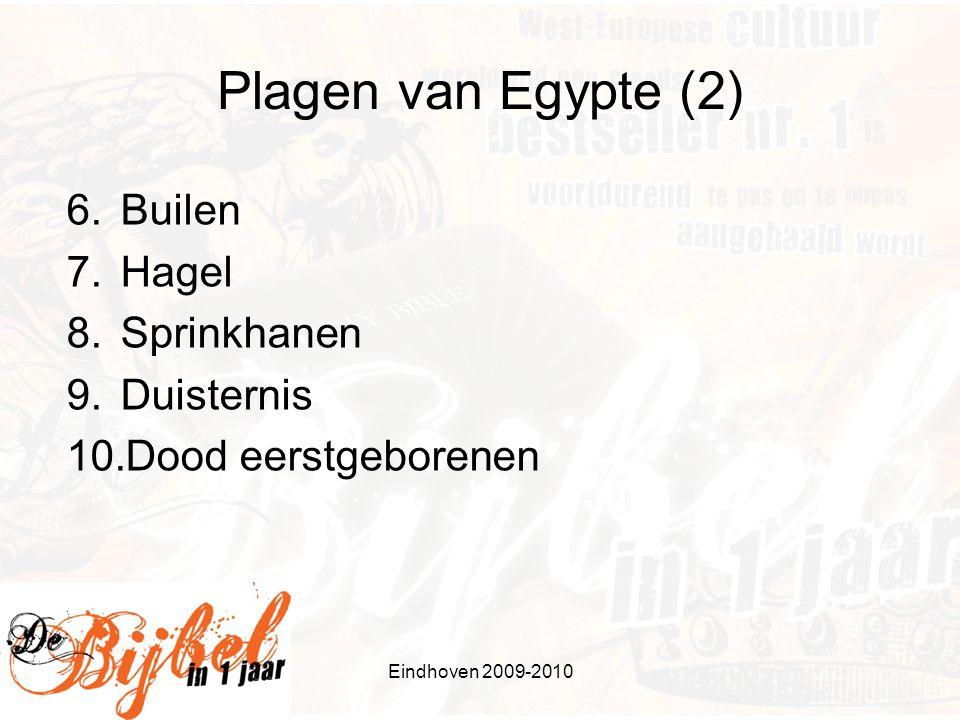 Plagen van Egypte (2) Builen Hagel Sprinkhanen Duisternis