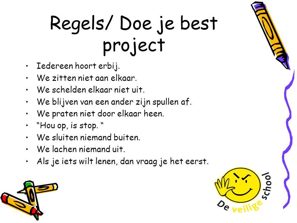 Regels/ Doe je best project