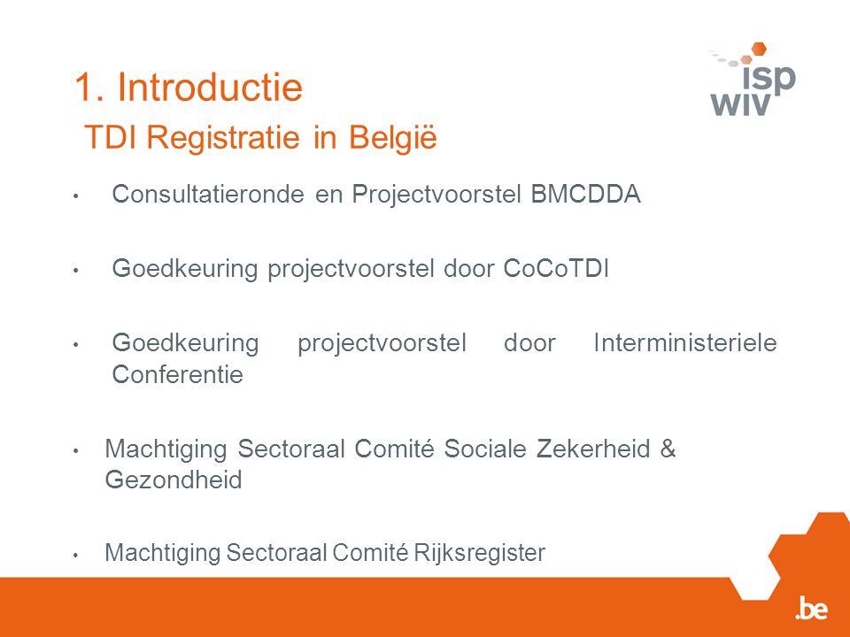 1. Introductie TDI Registratie in België