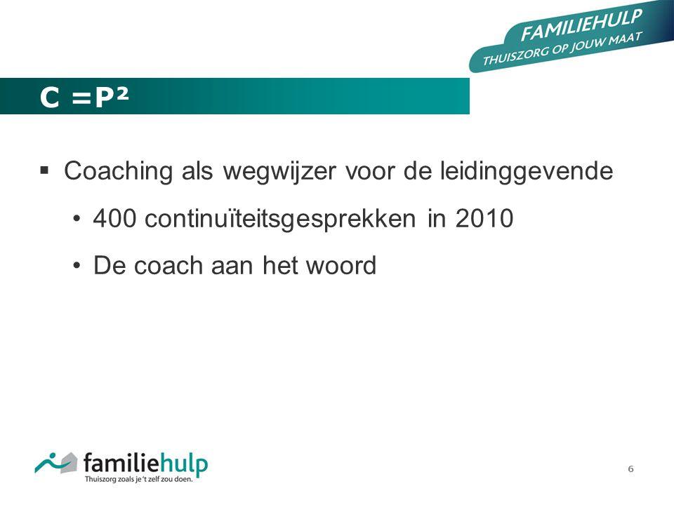 C =P² Coaching als wegwijzer voor de leidinggevende