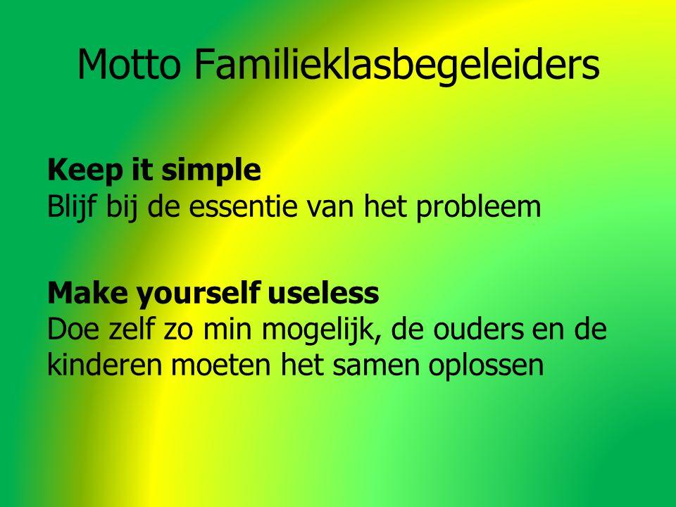 Motto Familieklasbegeleiders