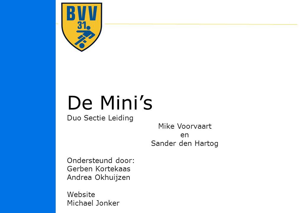 De Mini's Duo Sectie Leiding Mike Voorvaart en Sander den Hartog