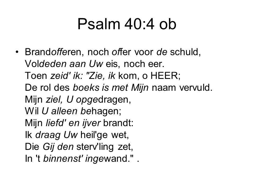 Psalm 40:4 ob