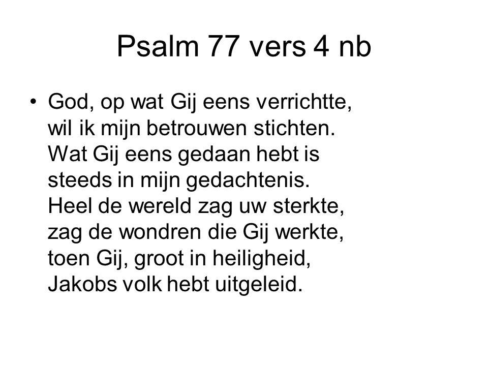 Psalm 77 vers 4 nb