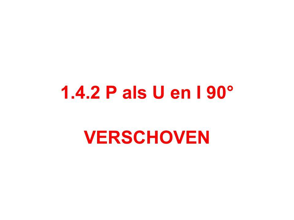 1.4.2 P als U en I 90° VERSCHOVEN