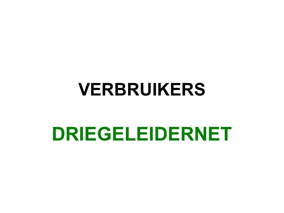 VERBRUIKERS DRIEGELEIDERNET