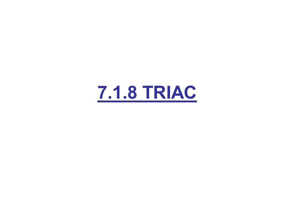 7.1.8 TRIAC