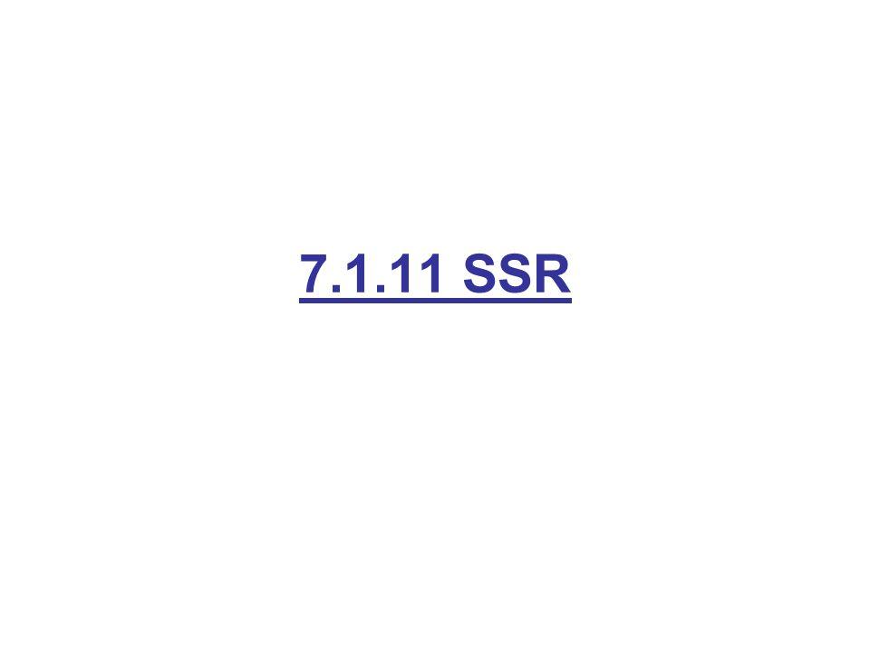 7.1.11 SSR