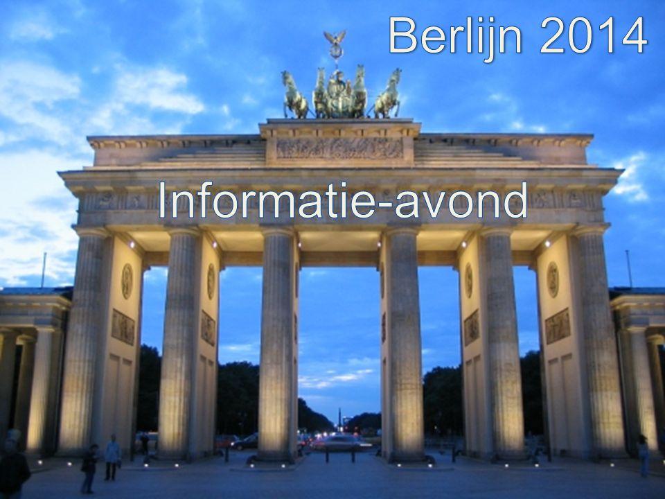 Berlijn 2014 Informatie-avond