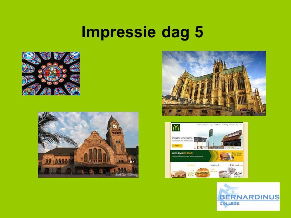 Impressie dag 5