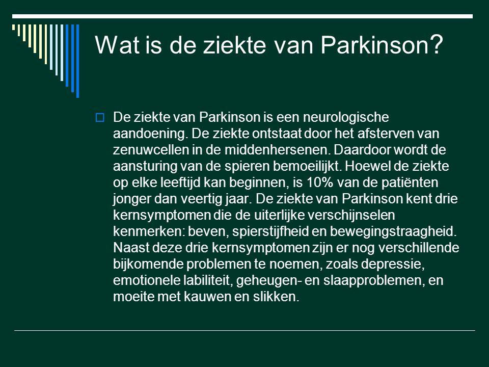Wat is de ziekte van Parkinson