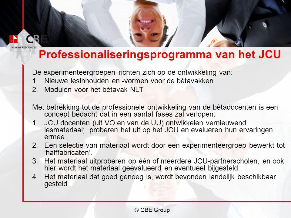 Professionaliseringsprogramma van het JCU